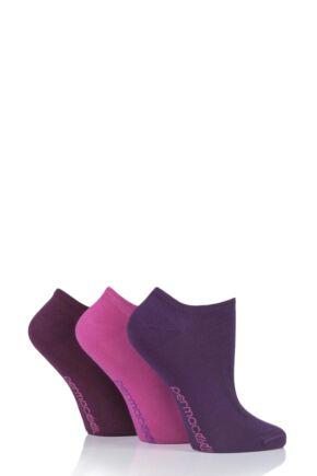 Mens and Ladies 3 Pair SOCKSHOP PermaCool Evaporation Cooling Trainer Socks
