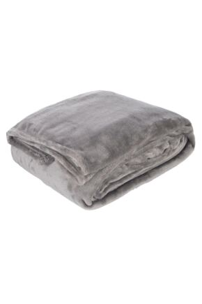 SockShop Heat Holders Snuggle Up Thermal Blanket In Moon Rock