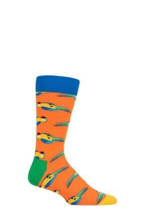 Happy Socks 1 Pair Monty Python Dead Parrot Socks Multi 4-7 Unisex