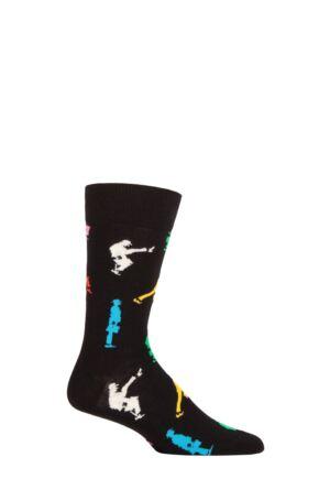 Happy Socks 1 Pair Monty Python Ministry of Silly Walks Socks