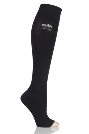 Ladies 1 Pair MilkTEDS Maternity Compression Open Toe Socks