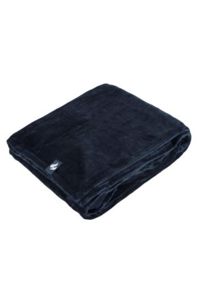 SockShop Heat Holders Snuggle Up Thermal Blanket In Navy