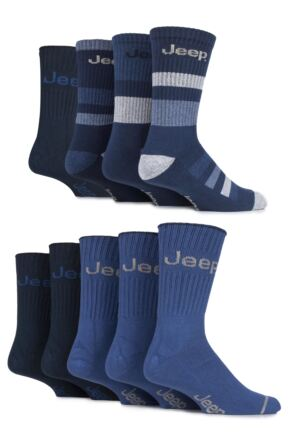 Mens 9 Pair Jeep Fresh Sock Drawer Collection Socks