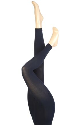 Ladies 1 Pair Heat Holders 0.52 Tog Leggings In Navy