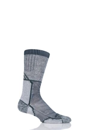 Mens and Ladies 1 Pair Thorlo Outdoor Explorer Walking Socks Pine Green 12.5-14 Unisex