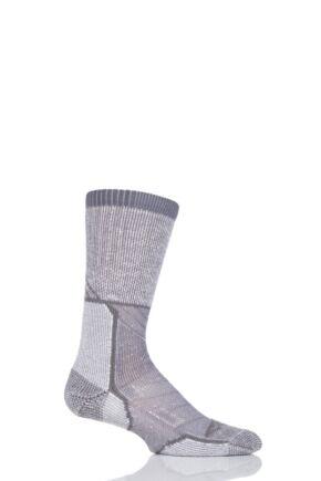 Mens and Ladies 1 Pair Thorlo Outdoor Explorer Walking Socks Grey Sky 5-8 Unisex