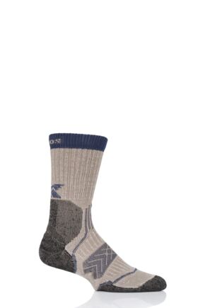 Mens and Ladies 1 Pair Thorlo Outdoor Fanatic Walking Socks Earth and Sky 5-8 Unisex