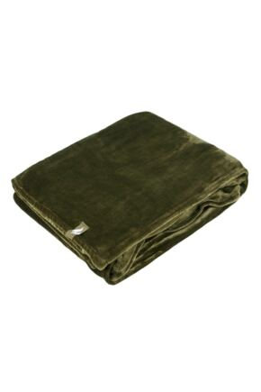 SockShop Heat Holders Snuggle Up Thermal Blanket In Olive