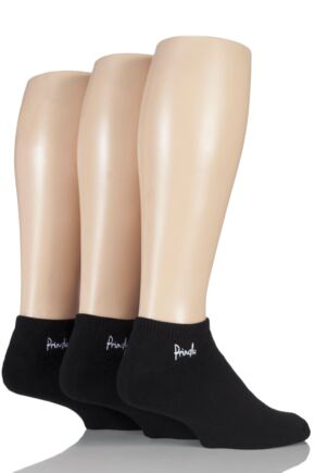Mens 3 Pair Pringle Cushioned Secret Socks