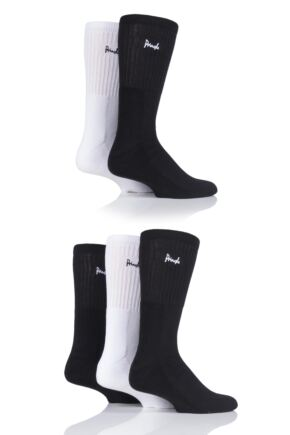 Mens 5 Pair Pringle Half Cushioned Sports Socks