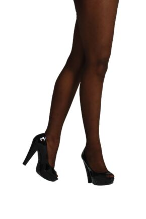 Ladies 1 Pair Pendeza 15 Denier Tone 50 Sheer Tights For Darker Skin Tones