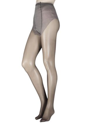 Ladies 1 Pair Trasparenze Perdue 20 Maternity Tights Dark Brown Medium