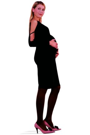 Ladies 1 Pair Trasparenze Perdue 60 Maternity Tights