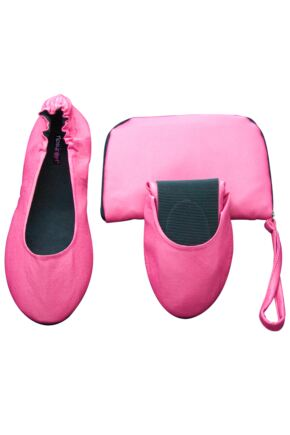 Ladies 1 Pair Tipsy Feet Foldable Shoes 50% OFF Pink S