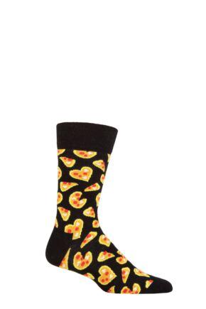Happy Socks 1 Pair Pizza Love Socks