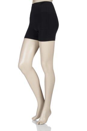 Ladies 1 Pack Pretty Polly Shape It Up Shaper Boy Shorts