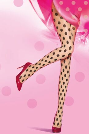 PRETTYPOLLY LARGE SPOT TIGHTS