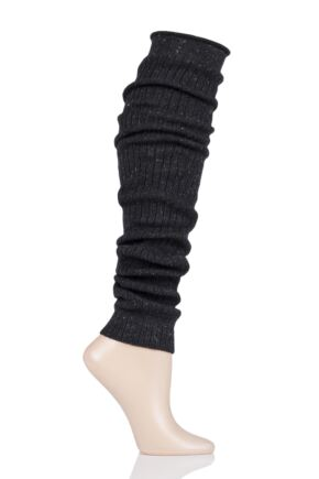 Ladies 1 Pair Trasparenze Porto Lurex Sparkle Leg Warmers