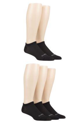 Mens 5 Pair SOCKSHOP Bamboo Mesh Trainer Socks