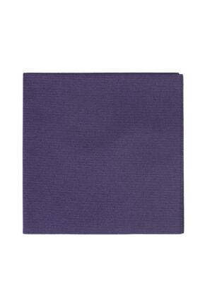 Mens 1 Pack SockShop Colour Burst Pocket Square Aubergine OS