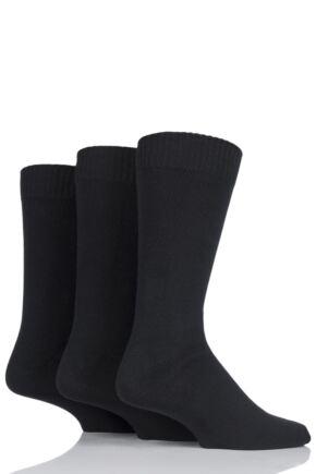Mens 3 Pair SOCKSHOP Cotton Socks