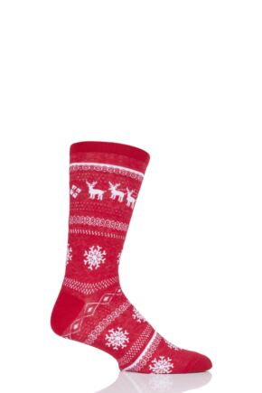 SOCKSHOP 1 Pair Christmas Sleigh Ride Socks