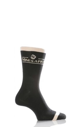 Mens 1 Pair SockShop Dare to Wear - Mine's A Pint! - Worth £2.99