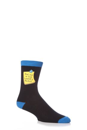Mens 1 Pair SockShop Dare To Wear Laundry Basket Socks
