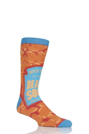 Mens 1 Pair SockShop Bamboo Beanz Can Socks
