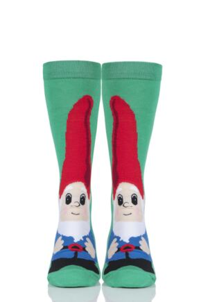 Mens 1 Pair SockShop Bamboo Gnome Socks