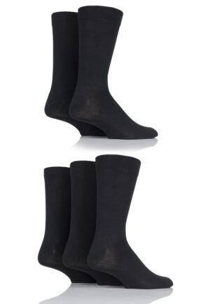 Mens 5 Pair SOCKSHOP Cotton Socks