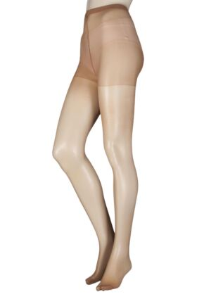 Ladies 2 Pair SockShop 15 Denier Tights