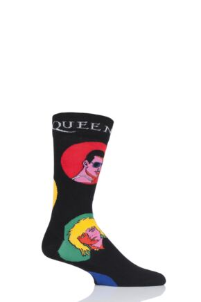 Happy Socks 1 Pair Queen 'Queen' Combed Cotton Socks