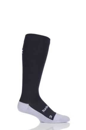 Mens 1 Pair RunBreeze Anti-bacterial Compression Socks With Cushioning