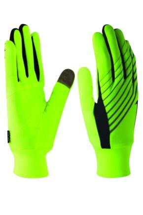 Mens 1 Pair Nike Lightweight Tech Running Gloves with Key Pocket