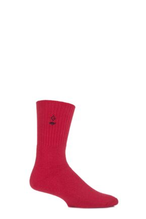 Mens 1 Pair Glenmuir Cushioned Comfort Cuff Golf Socks