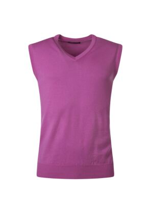 Mens Great & British Knitwear 100% Merino Plain V Neck Slipover Showbiz C Medium