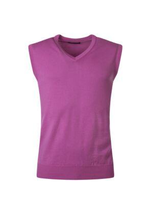 Mens Great & British Knitwear 100% Merino Plain V Neck Slipover Showbiz D Large