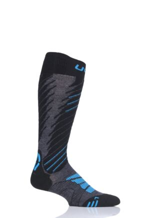 Mens 1 Pair UYN Comfort Fit Ski Socks