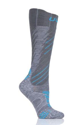 Ladies 1 Pair UYN Comfort Fit Ski Socks