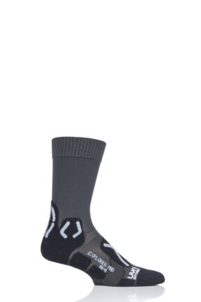 Mens 1 Pair UYN Outdoor Explorer Mid Length Socks