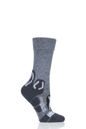 Ladies 1 Pair UYN Outdoor Explorer Mid Length Socks