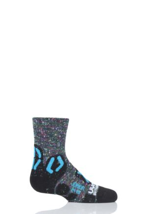 Boys and Girls 1 Pair UYN Junior Outdoor Explorer Socks