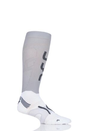 Mens 1 Pair UYN Run Compression Fly Socks