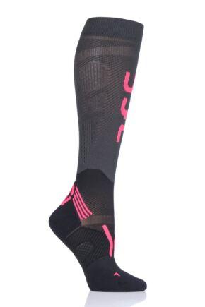 Ladies 1 Pair UYN Run Compression Fly Socks