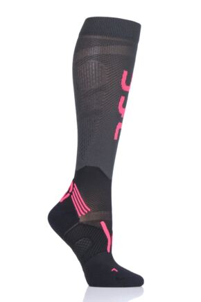 Ladies 1 Pair UYN Run Compression Fly Socks