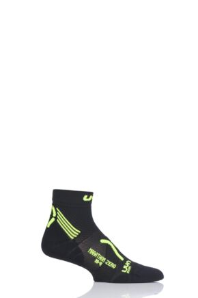 Mens 1 Pair UYN Run Marathon Zero Socks