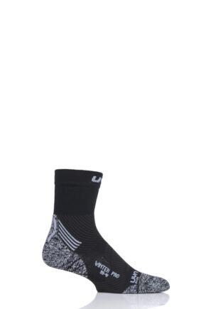 Mens 1 Pair UYN Winter Pro Run Socks