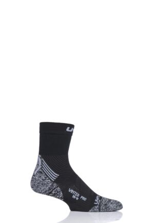 Mens 1 Pair UYN Winter Pro Run Socks