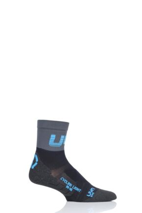 Mens 1 Pair UYN Cycling Light Weight Socks